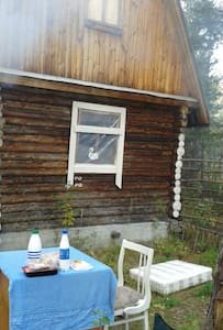 Летний домик- экстрим, рядом стелла Европа-Азия. - Cabin