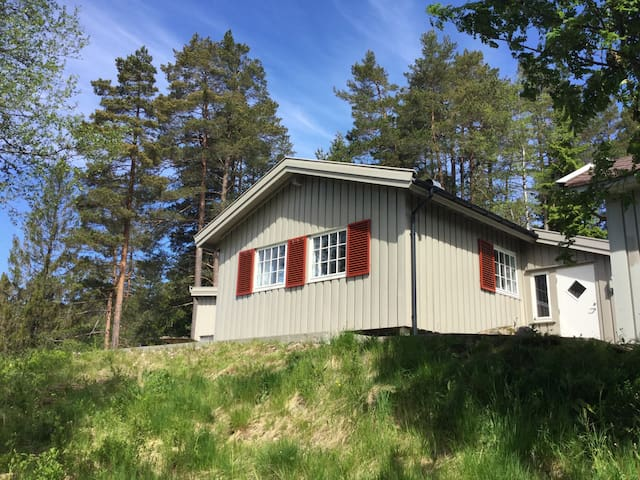 Tranquility in the Norwegian woods! - Finsland - Cottage
