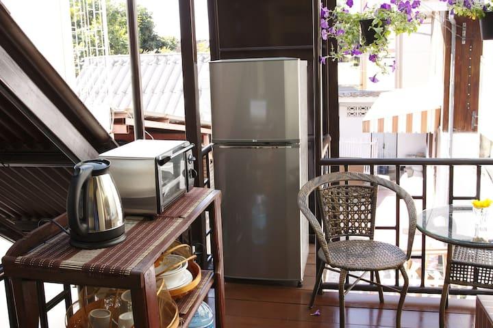 女性も安心日本人女性オーナーの宿#6エコプラン3名1室 Eco Plan for 3person - Chiang Mai - House