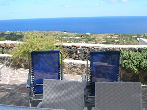 Ustica's Villa sea view, Ustica
