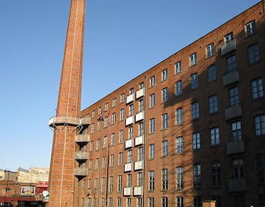 Modern Flat in Restored Cotton Mill