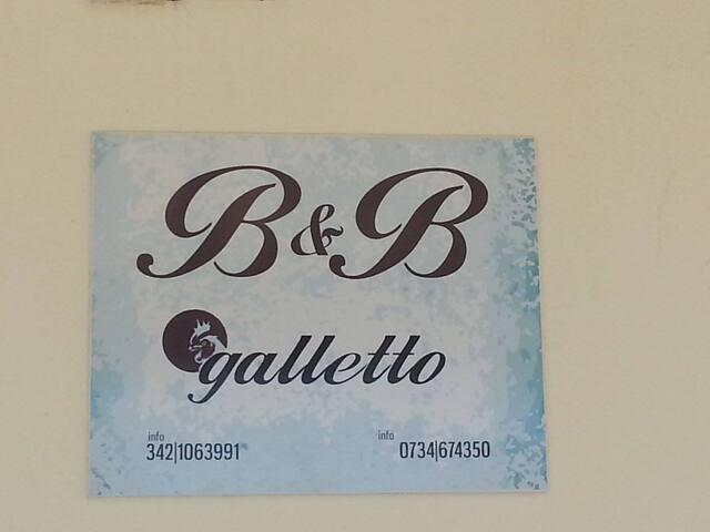 B&B GALLETTO camera doppia n 18