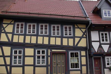 Schiefes Haus in Stolberg/Harz - Südharz - Dom