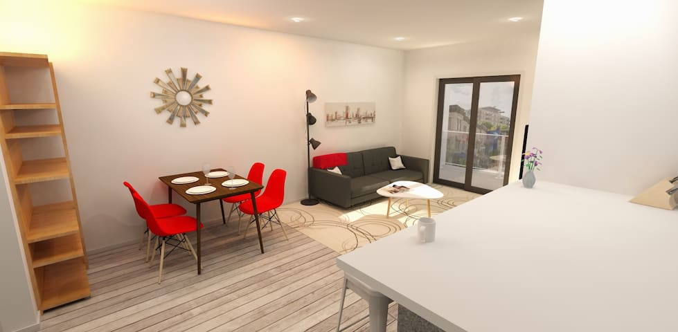 Luxury 1BR In Mid-town Montreal - Montréal - Apartment