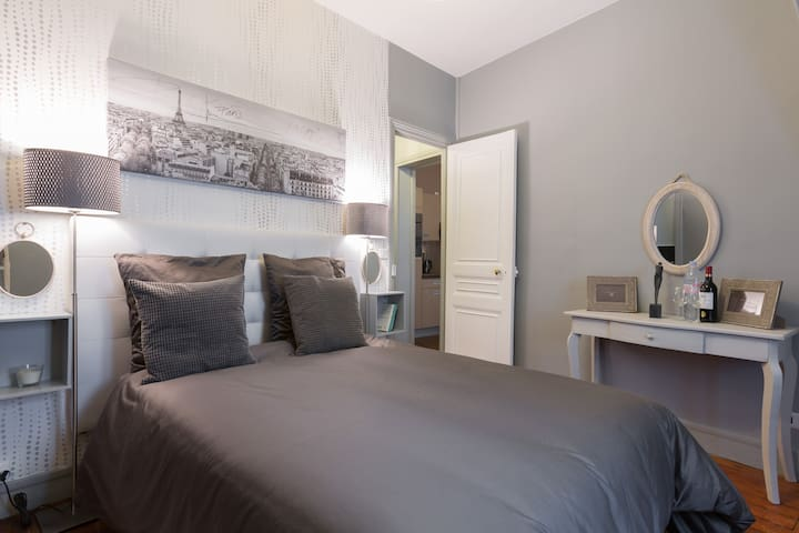 Cozy apartment-Direct center Paris! - Asnières-sur-Seine - อพาร์ทเมนท์