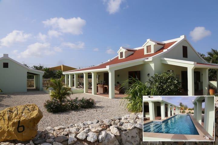 Uw eigen villa, studio en zwembad in Belnem!