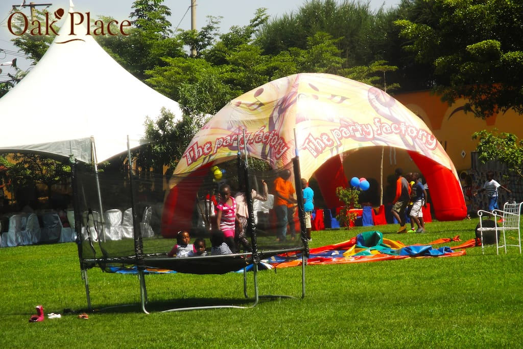 Kids entertainment facilities
