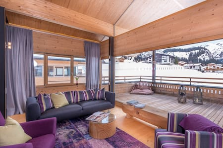 Design Chalet No 686 in Lech - 레히
