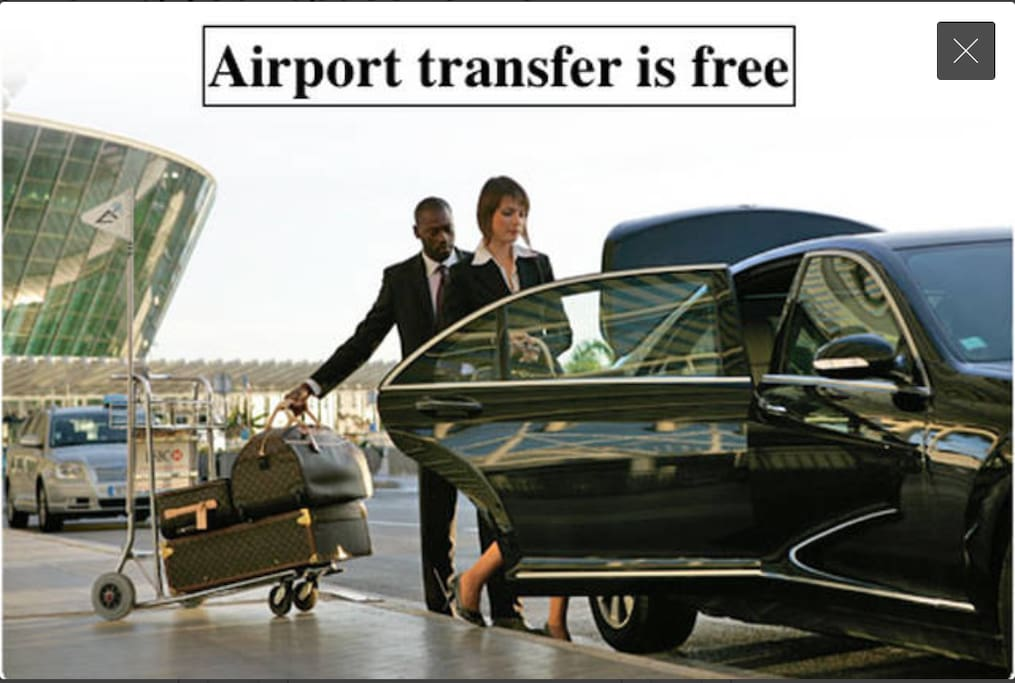 We are taking you from airport to home. This offer for reservation which is more than a week