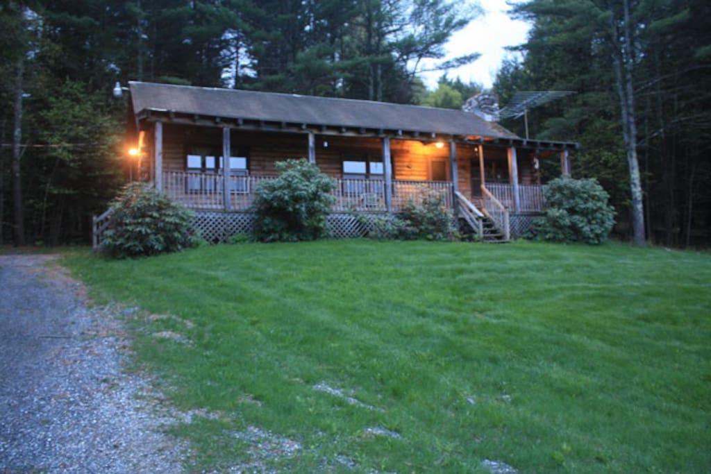 The Log Cabin At Hidden Valley Farm Huizen Te Huur In