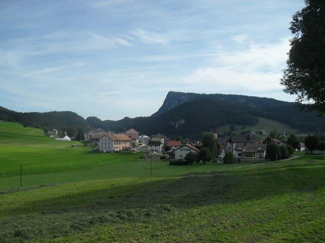 Chalet à la Vallée de Joux - Les Charbonnières - Bed & Breakfast