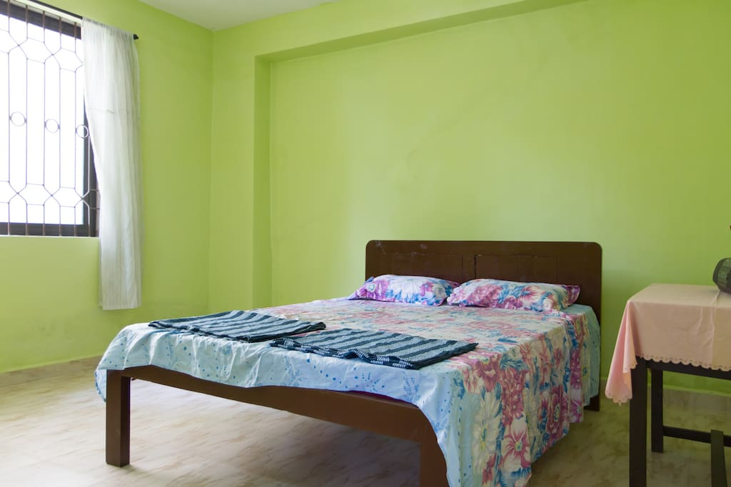First Bedroom with Queen Size double bed