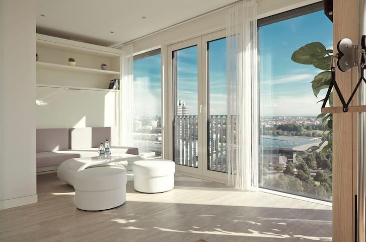 Exclusive (SENSITIVE CONTENTS HIDDEN)nthouse - 19th Floor - Múnich - Loft