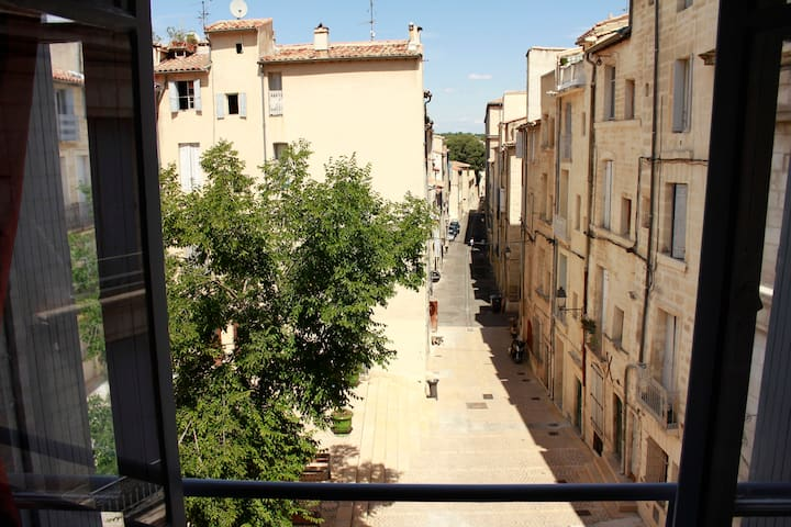 Pretty DUPLEX in middle age city center - Montpellier