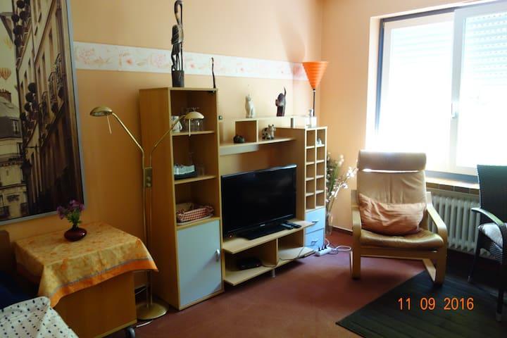 """Das """"Bunte Zimmer im Haus Weschke Bed & Breakfast"""