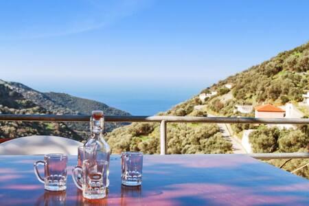 Calm house near Crete's west coast - Kampos - Hus