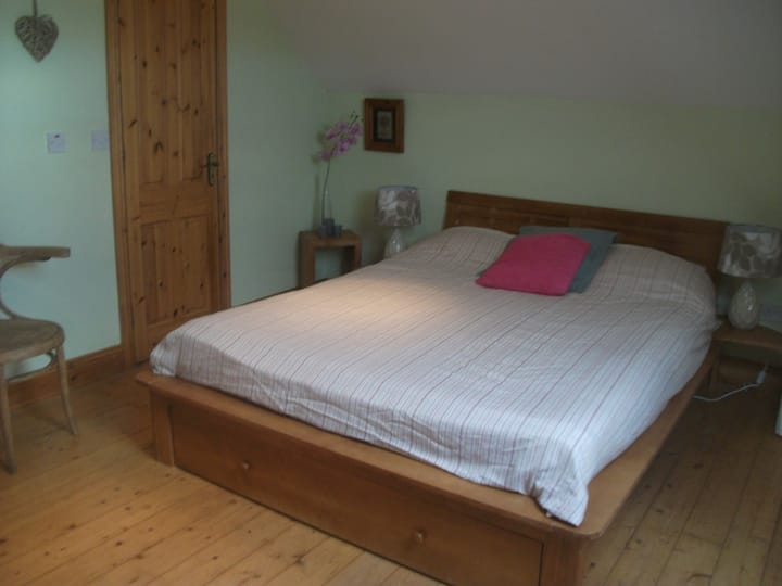 Large spacious en-suite double room