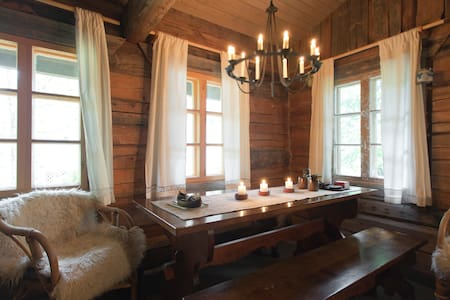 A cosy log cabin with a sauna - Vantaa