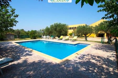 Stunning Peralada mansion for 15 people, only 8km from Costa Brava beaches! - Costa Brava - Huis