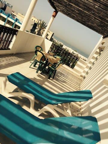 Baie des palmiers Cité Founty - Agadir - Apartament