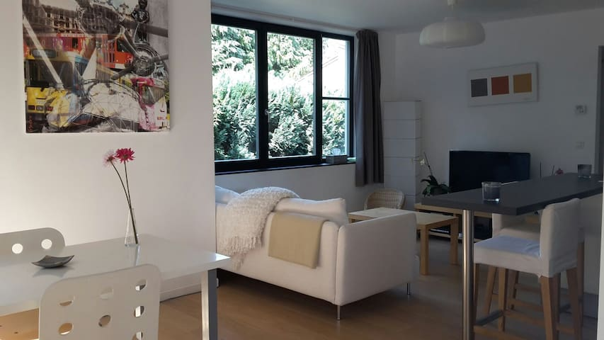 Charmant appartement - Linkebeek - Apartament