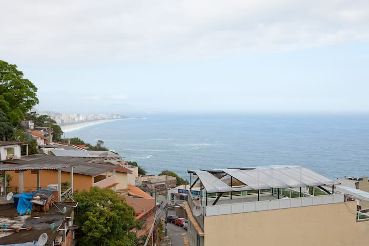 Private double room in Vidigal, RJ