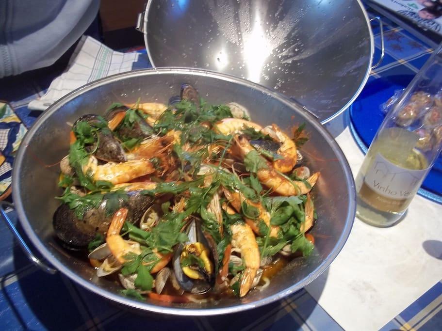 Cocinamos los fines de semana: Cataplana de marisco