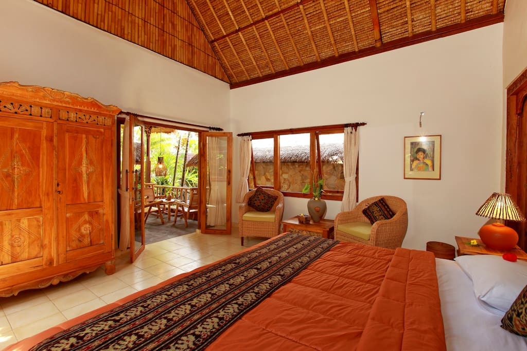 With private verandah and views over the pool and jungle garden you have a sense of peace.