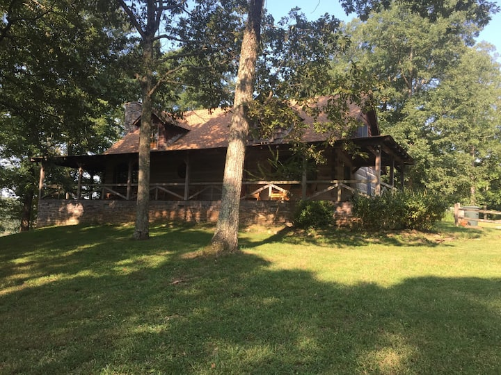 Fork Inn  Log Cabin, ForestView Rm (#4)