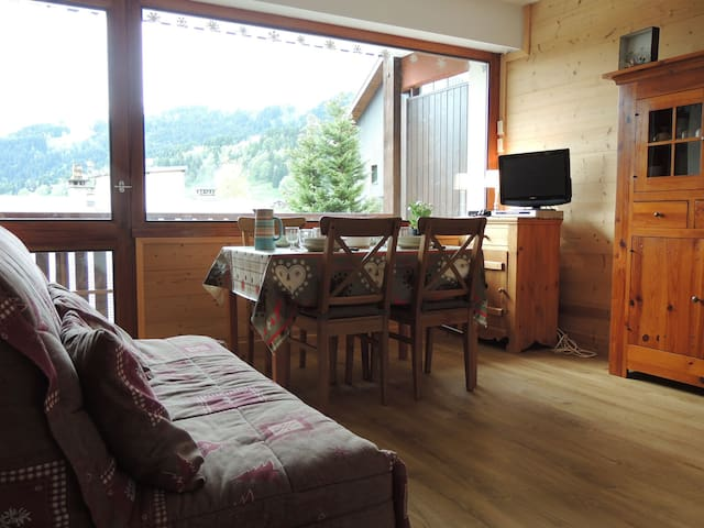 PLEINB : Studio and cabine in a quiet area, close to ski slopes
