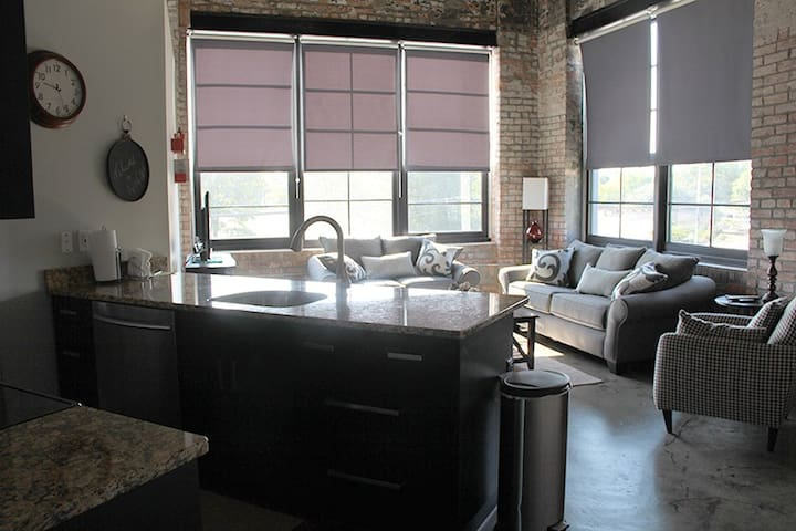 Downtown 1-BR Loft, Arts District 1