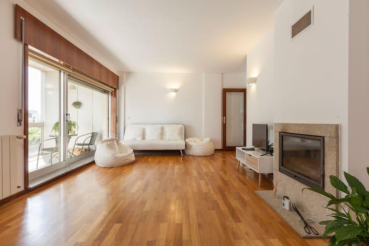Apartamento muito sossegado - Maia - Flat
