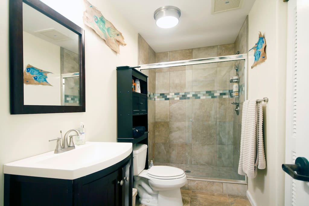 Recently Remodeled Bathroom.