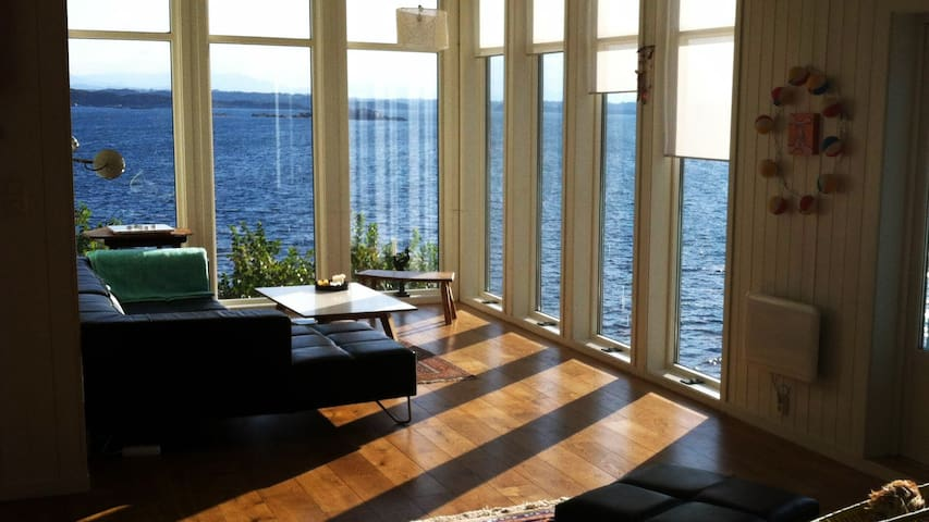Stunning island 1,5h from Bergen(2) - Møkster - Appartement