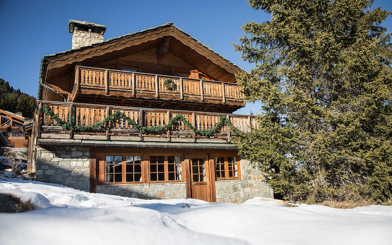 5rooms appt. on slopes Courchevel1850 LaMaisonnéeB