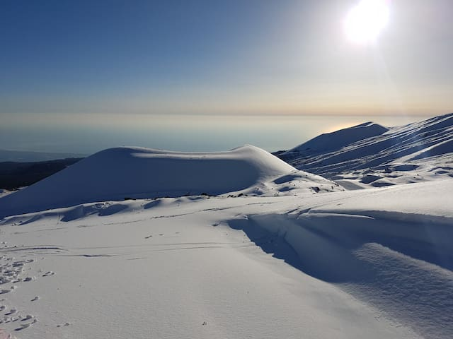 Etna Nord con vista Mare Jonio