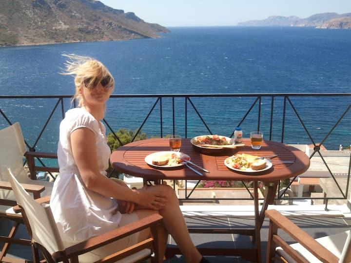 Kalymnos paradise with sea view
