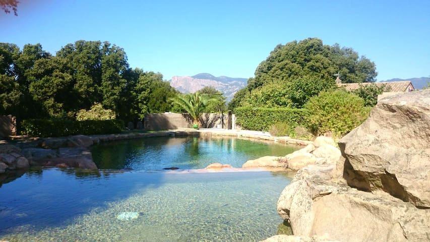 Villa Victoria 2 chambres avec piscine proche Aja - Ajaccio - Villa