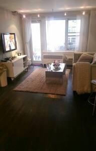 Cozy, quiet apartment with balcony