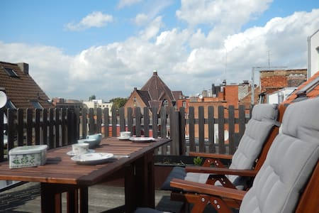 Nice apartment with large terrace - Antwerpen