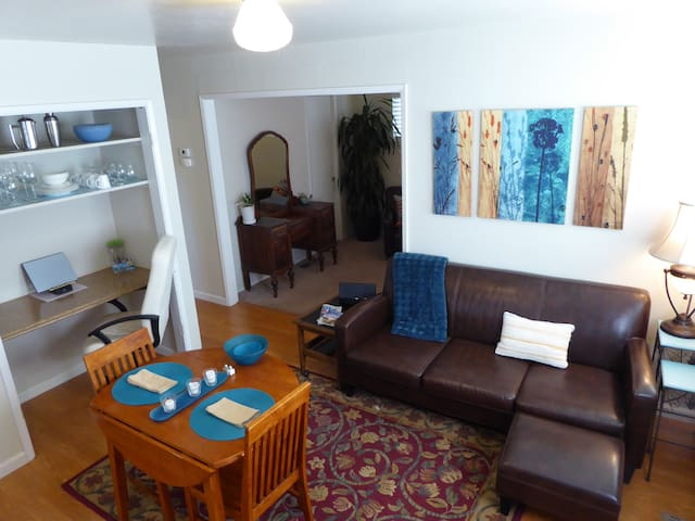 Private Guest Suite, DowntownDavis - Davis - Bungalov
