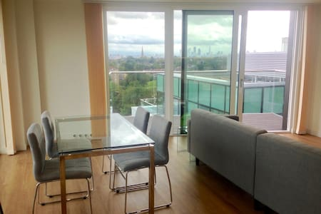 Room in Modern City View Apartment