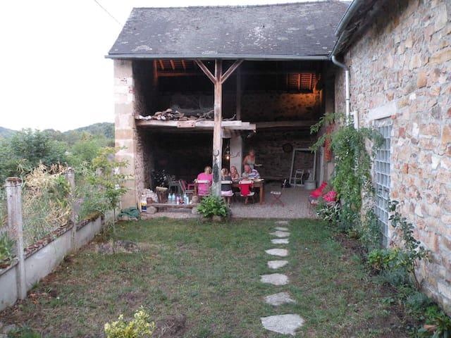 Cottage in Regional park Du Morvan - Chissey-en-Morvan - Cabin