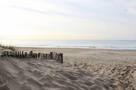 La Grande Motte à 150m de la plage. F2 Wi-Fi