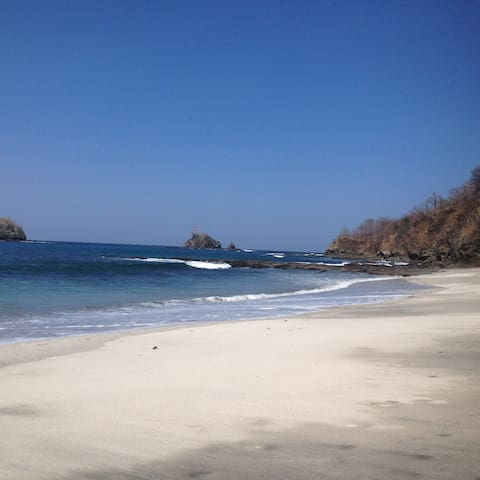 One of our favorite beaches, Dantita.