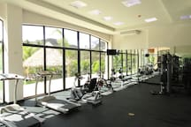Fitness Center at the Tennis