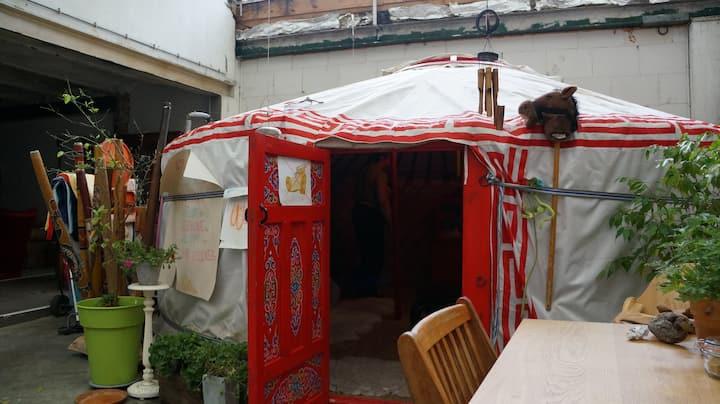 Yurt in Antwerp