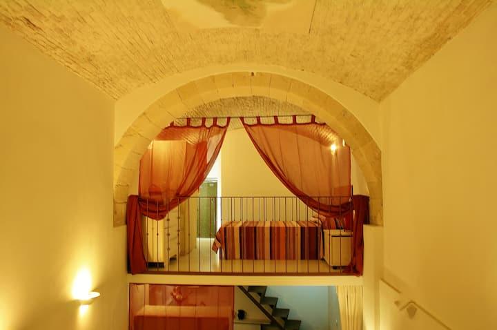 Loft 1 in stalla medievale