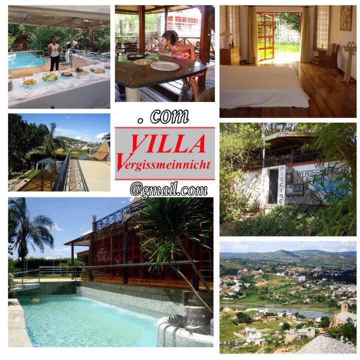 VILLA V (6-7 guests) comfort, quiet, WiFi, billard