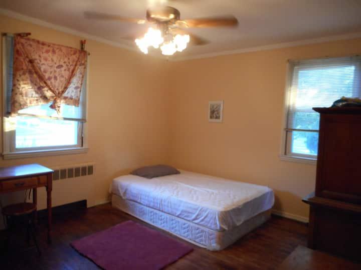 Spacious private room